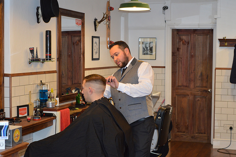 Mens Haircut from Bexhill Barbers