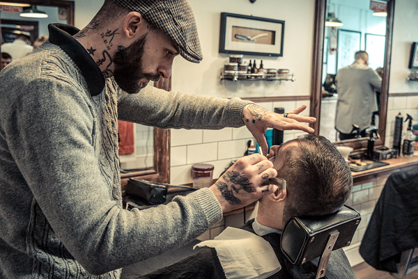 Cut Throat Shave From Bexhill Barbers Bexhill Barbers