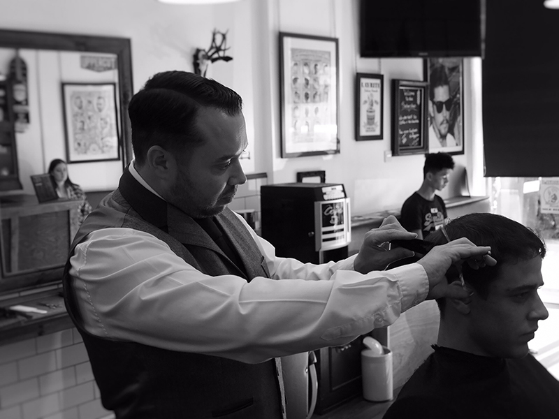 Massimo Monstellato Bexhill's Master Barber